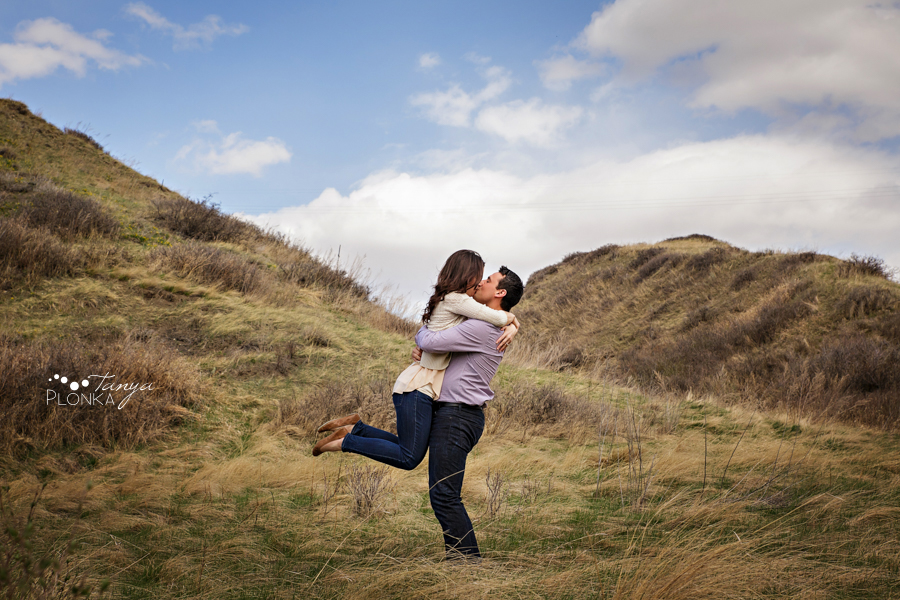Lethbridge spring engagement photos