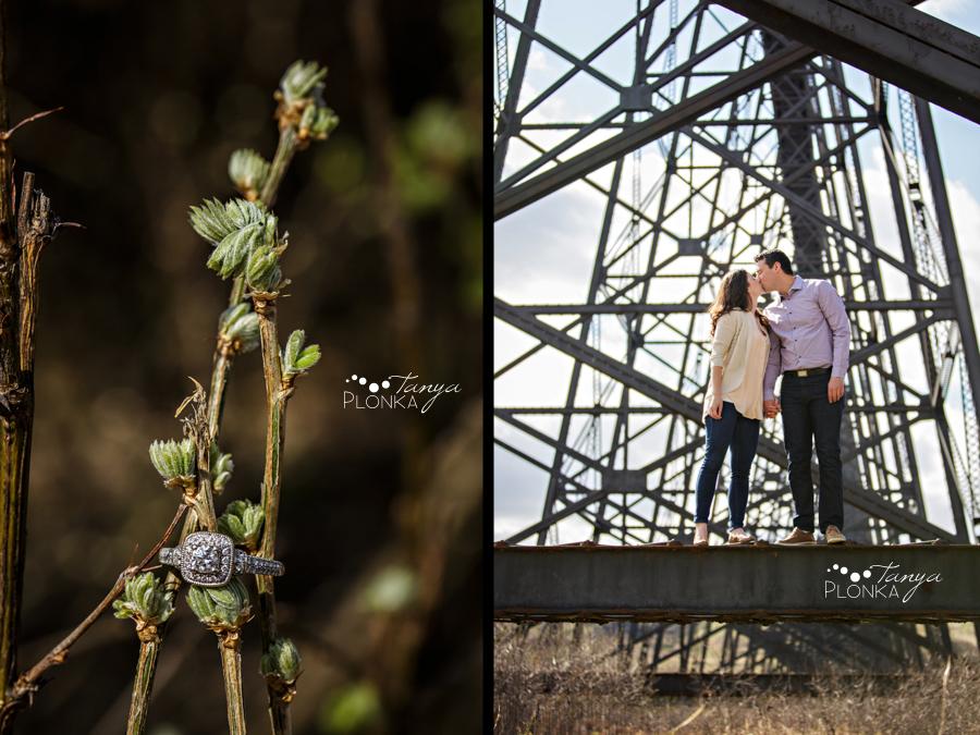 Lethbridge spring engagement photography