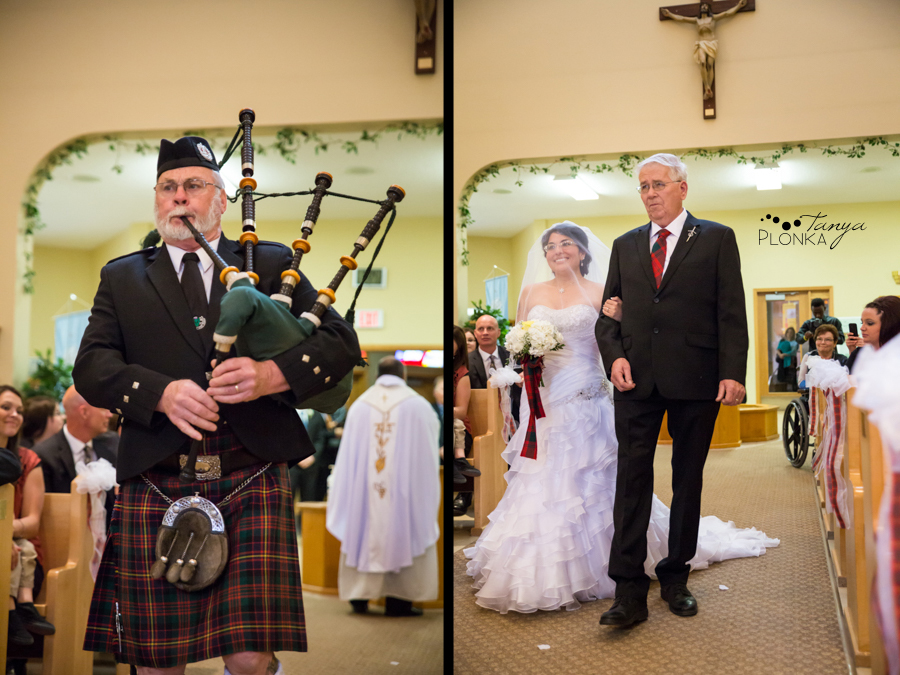 Richard & Crystal, Crowsnest Pass Catholic wedding