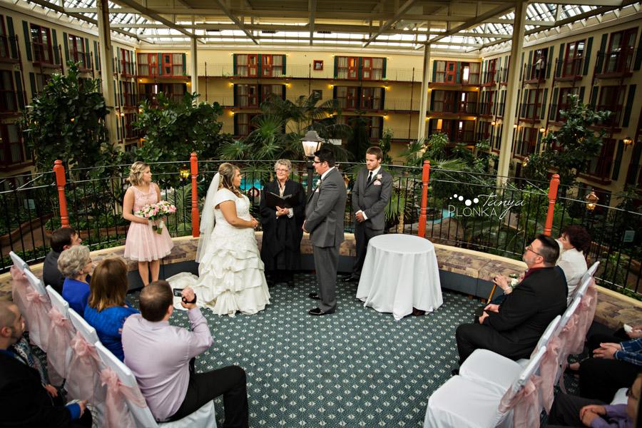 Cale & Kirsten, Lethbridge spring wedding photography