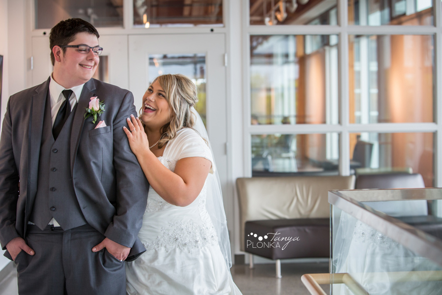 Cale & Kirsten, Lethbridge spring wedding photography