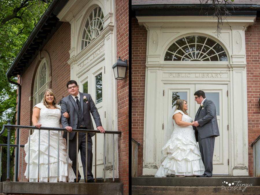 Cale & Kirsten, Lethbridge SAAG wedding photos