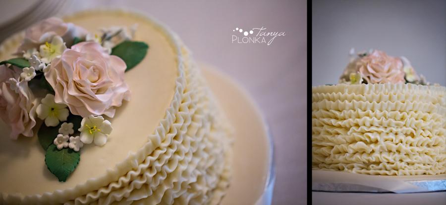 Cale & Kirsten, Lethbridge wedding cake photos