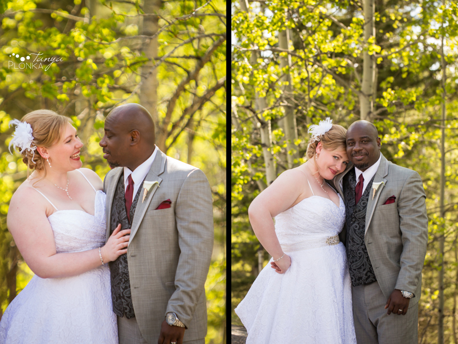 Cyndy & Austin, Calgary spring wedding photography, Calgary wedding photos