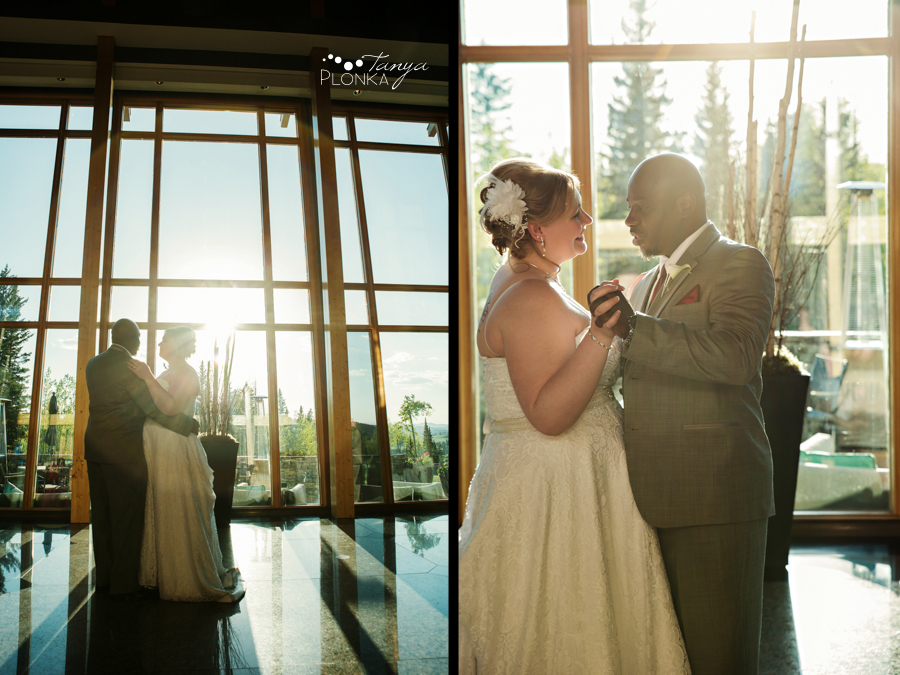 Cyndy & Austin, Azuridge Estate Hotel wedding photography, Calgary wedding photos