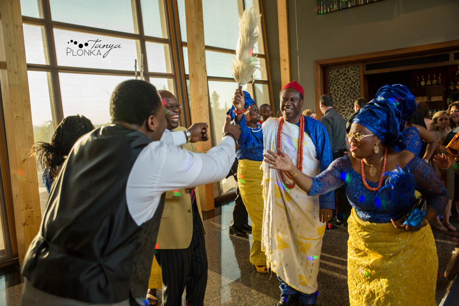 Cyndy & Austin, Azuridge Estate Hotel wedding photography, Nigerian Calgary wedding photos