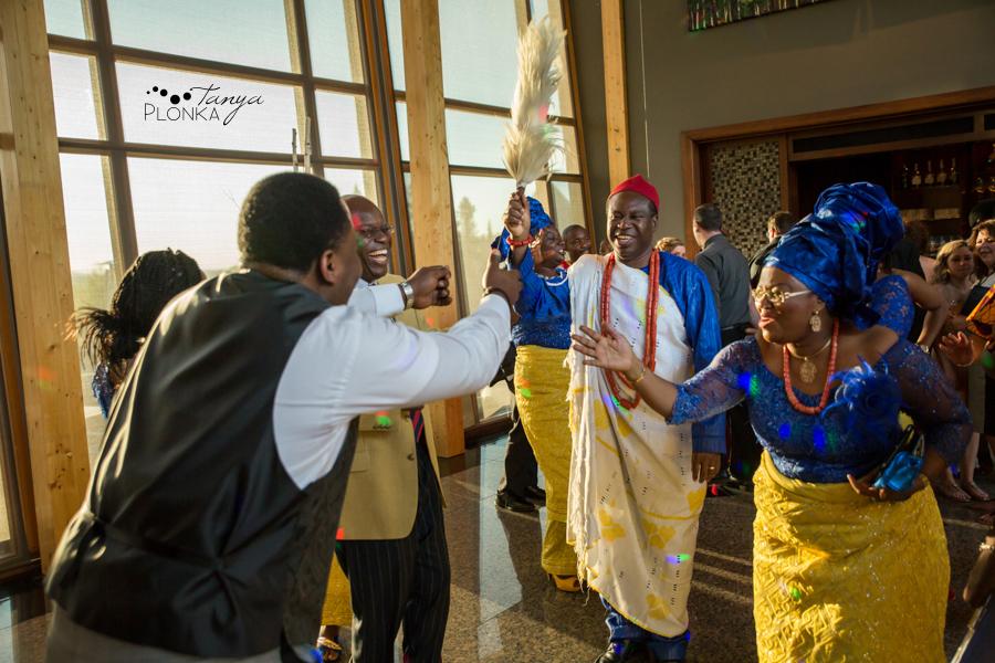 Cyndy & Austin, Azuridge Estate Hotel wedding photography, Nigerian Calgary wedding photos