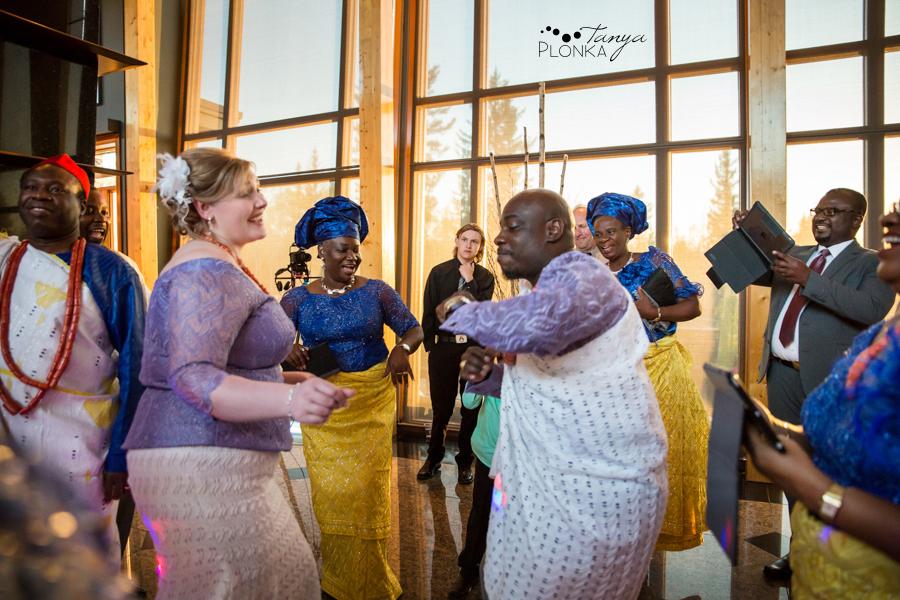 Cyndy & Austin, Azuridge Estate Hotel wedding photos, Calgary Nigerian wedding photos