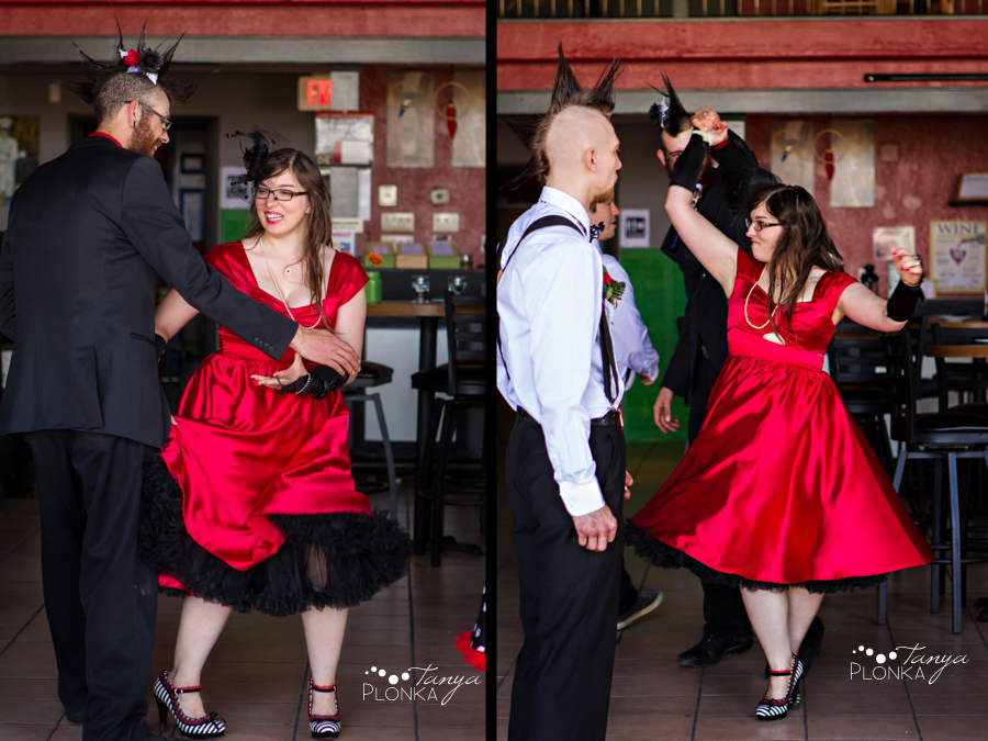 Tony & Kathleen, Lethbridge vintage pinup wedding