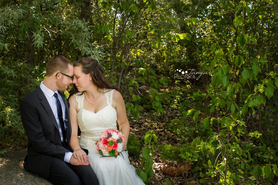 Scott and Katie, Lethbridge indoor summer wedding photography