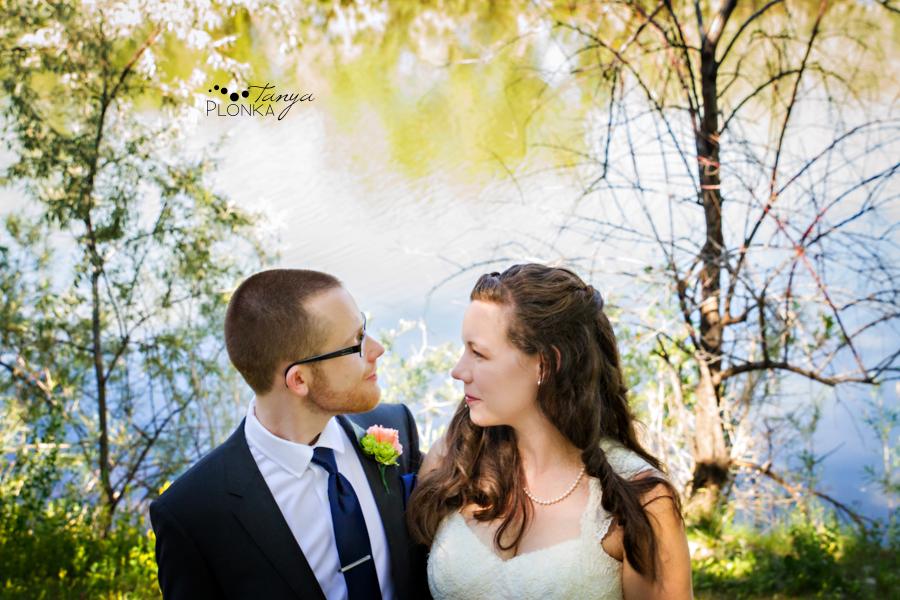 Scott and Katie, Lethbridge Aperture Park summer wedding photography