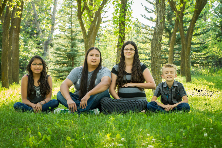 Lethbridge evening family photos