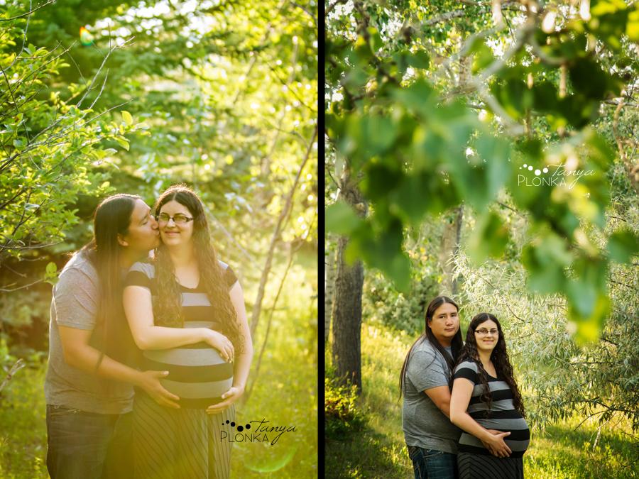 Lethbridge evening maternity photos