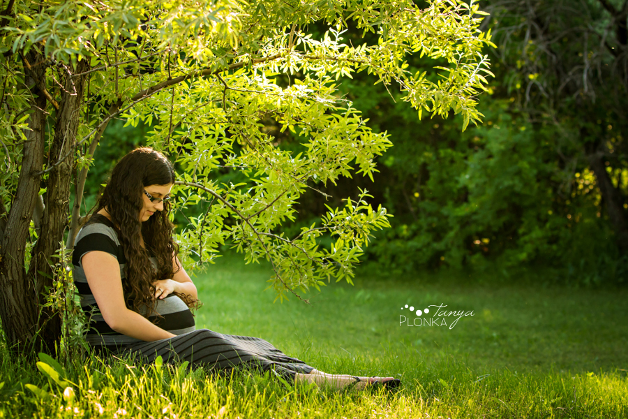 Lethbridge evening maternity session