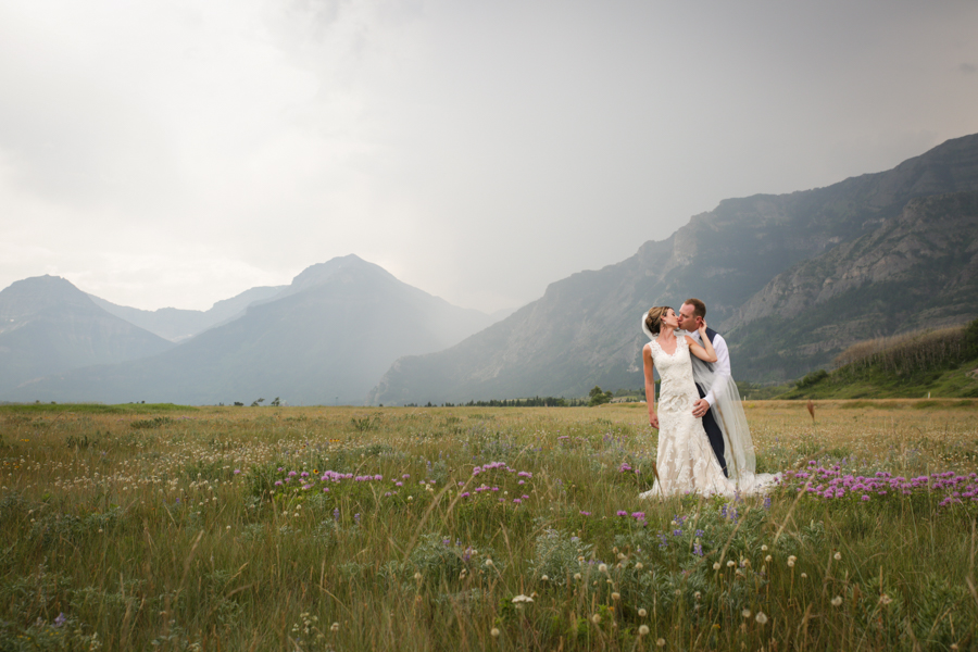 Kaitlin & Riley, Waterton wedding photography