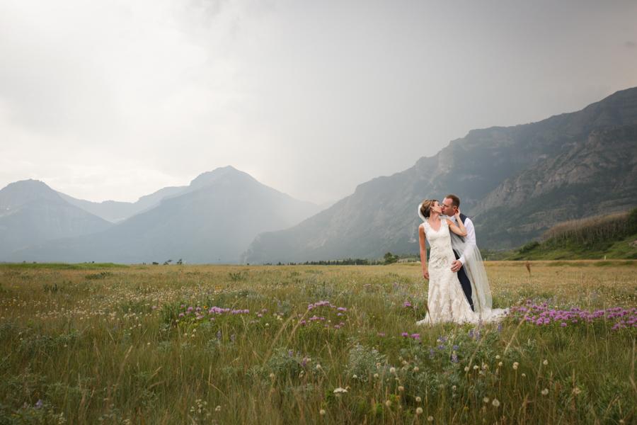 Kaitlin & Riley, Waterton wedding photography