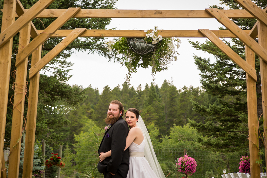 Colby & Allison, Springbreak Crowsnest Pass summer wedding