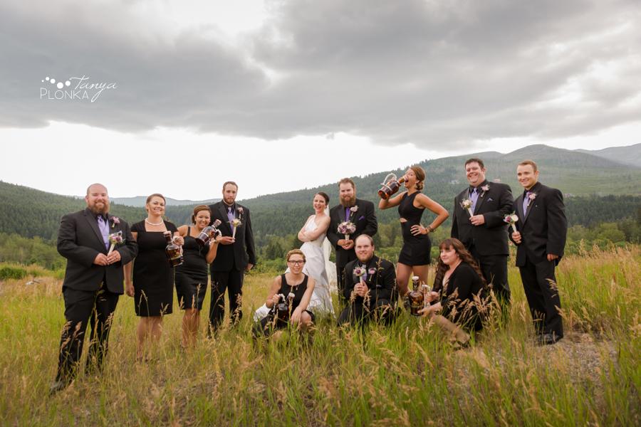Colby & Allison, Springbreak Crowsnest Pass summer wedding