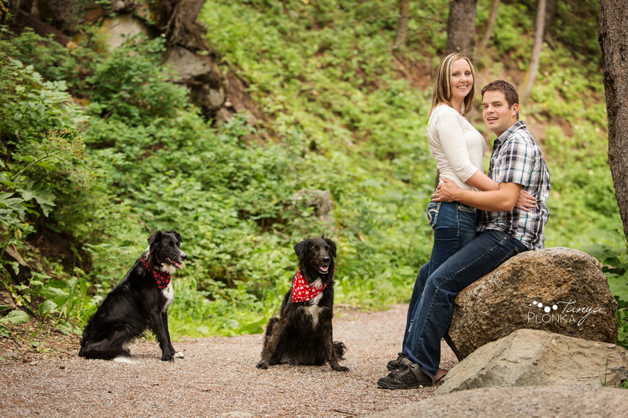 Crowsnest Pass outdoor engagement photos