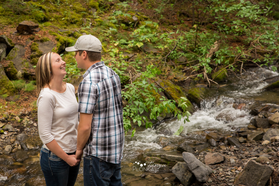 Coleman outdoor engagement photography