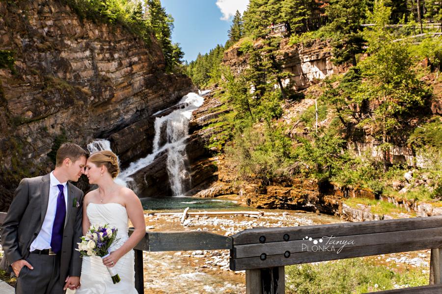 Ryan & Jen, summer Waterton mountain wedding photos