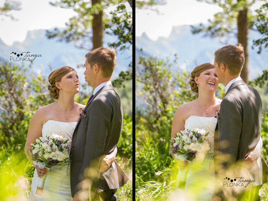 Ryan & Jen, Waterton mountain wedding