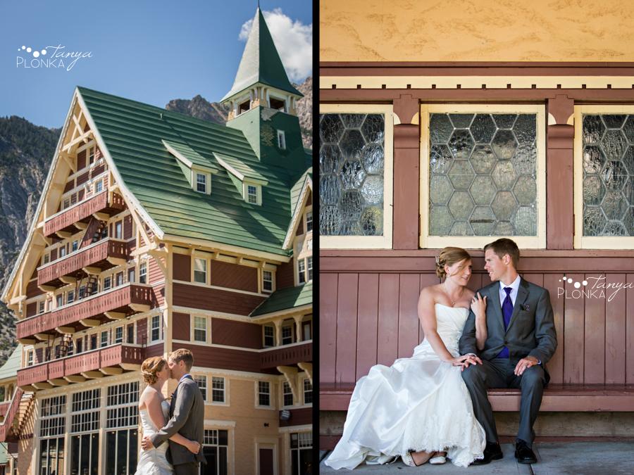 Ryan & Jen, Waterton mountain wedding photography