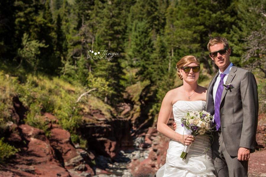 Ryan & Jen, summer Waterton mountain wedding