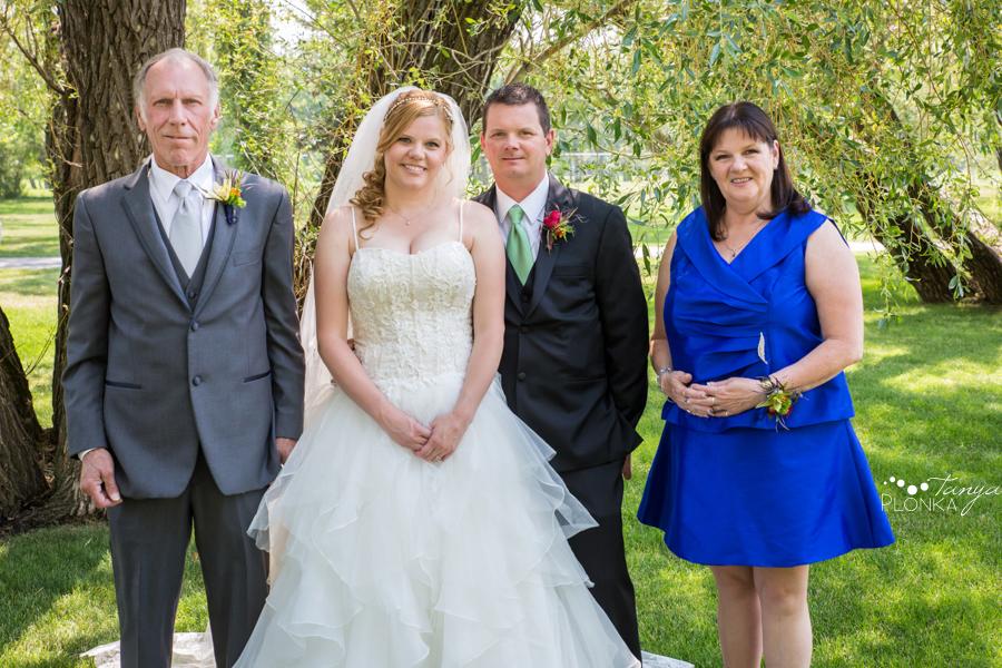 Don & Cathy, Lethbridge Henderson Lake summer wedding