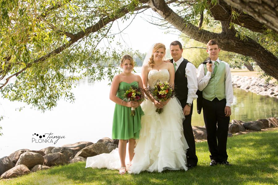 Don & Cathy, Lethbridge Henderson Lake indoor summer wedding