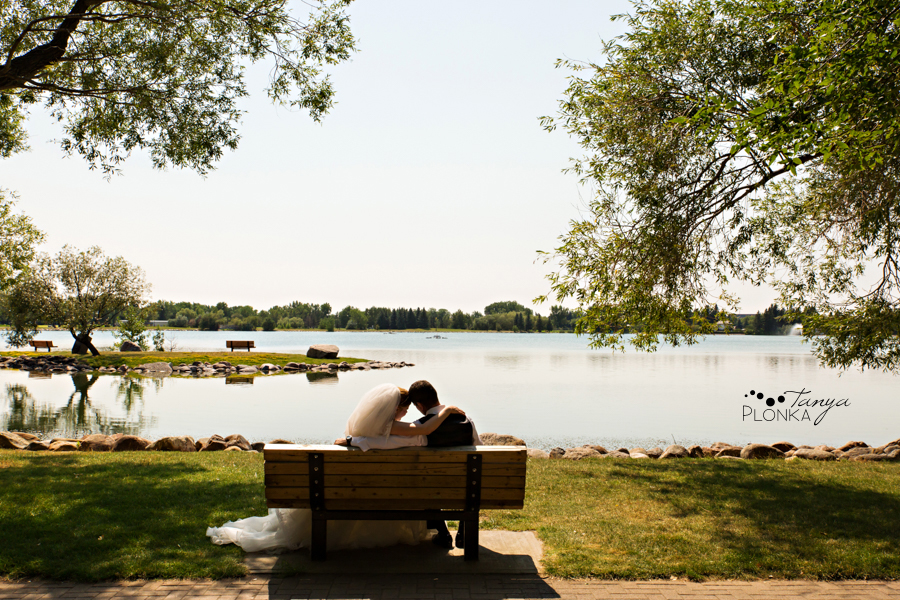 Don & Cathy, Lethbridge Henderson Lake summer wedding photography