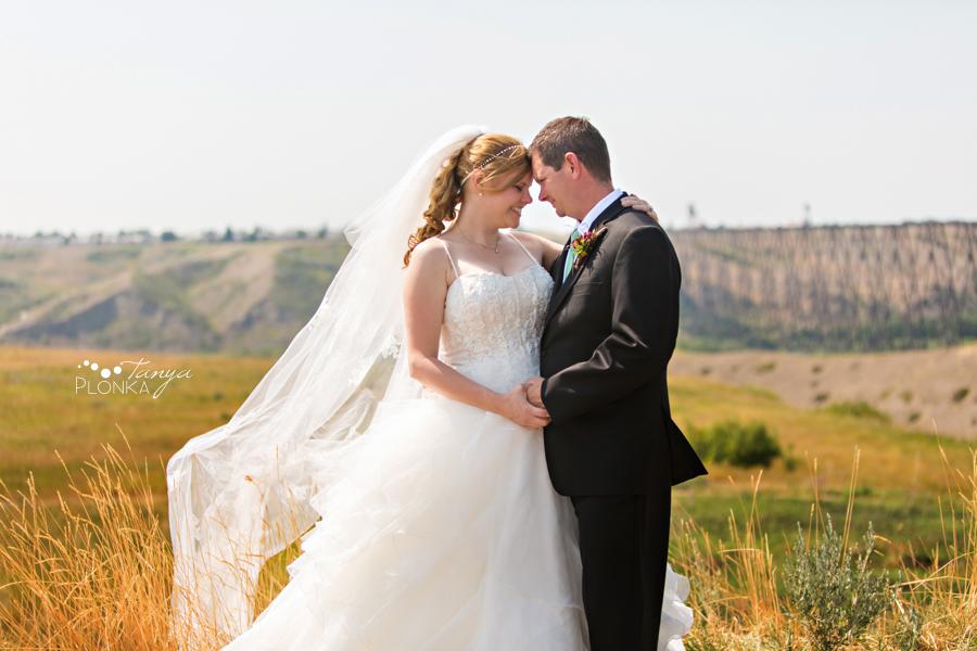 Don & Cathy, Lethbridge coulees wedding photos