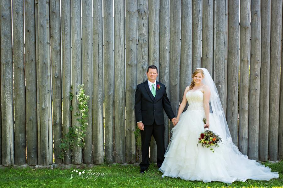 Don & Cathy, Lethbridge river bottom summer wedding