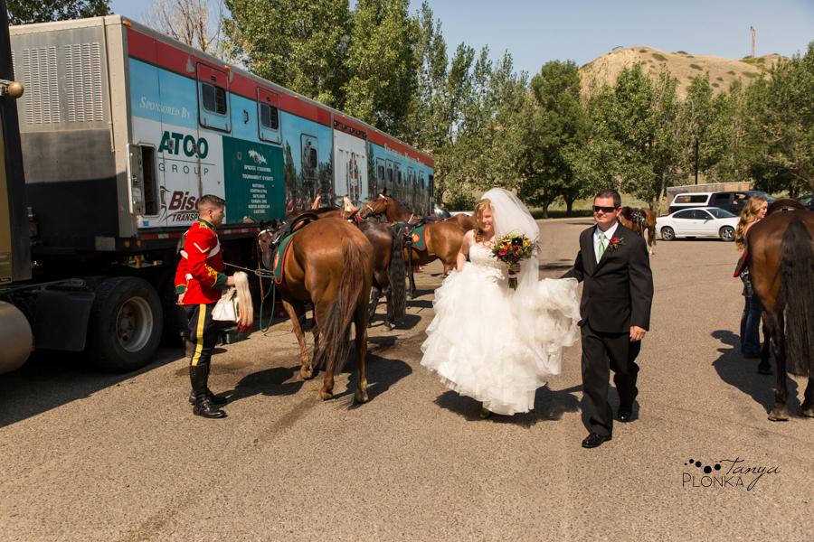 Don & Cathy, Lethbridge Indian Battle Park summer wedding photography