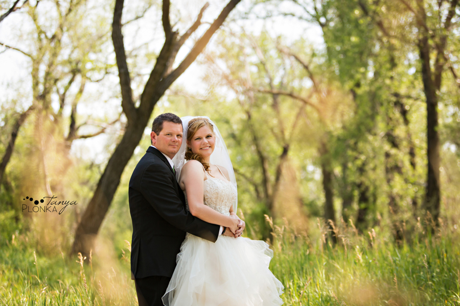 Don & Cathy, Lethbridge river bottom summer wedding photography