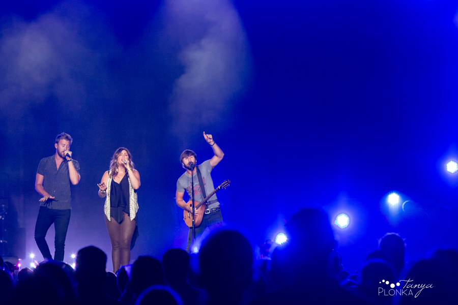 Lethbridge Lady Antebellum concert photos