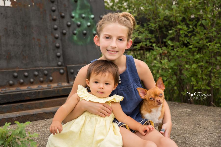 Indian Battle Park summer family photos