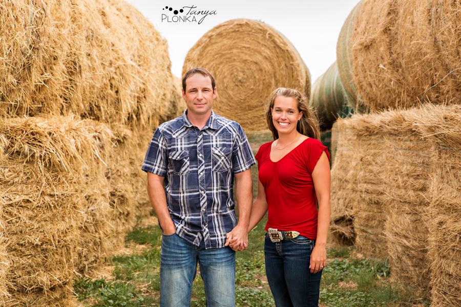 New Dayton country engagement photography