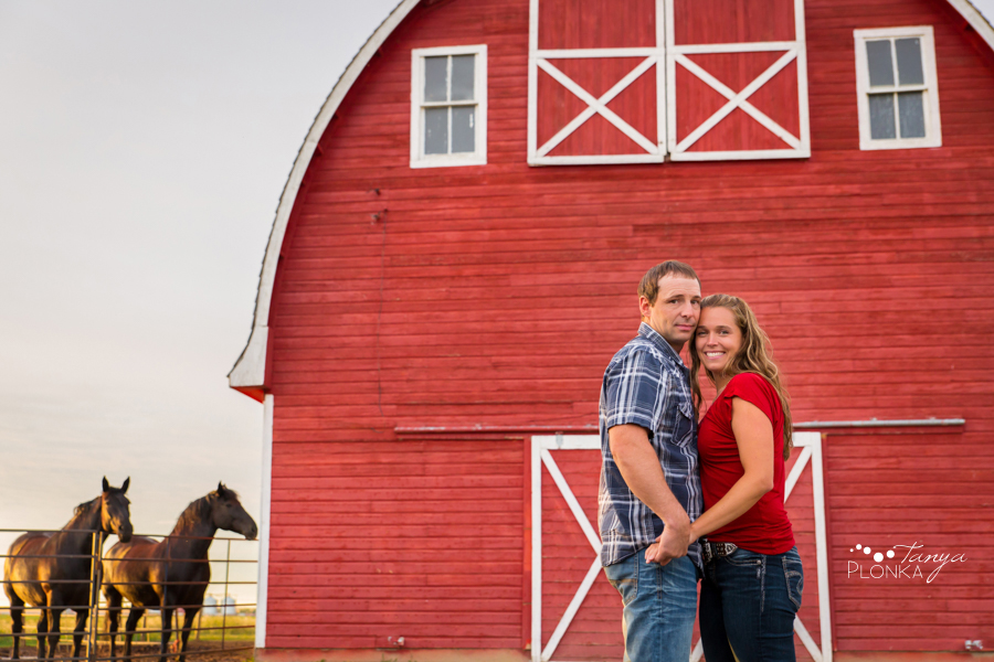 Stirling country engagement photography