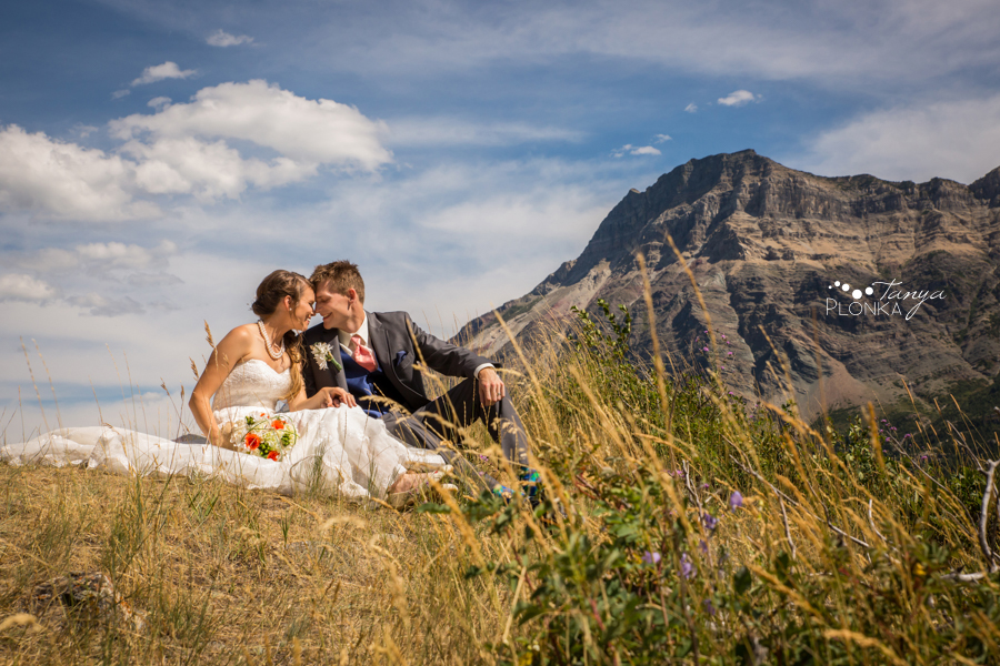 Garrett & Heather, Waterton Community Center wedding