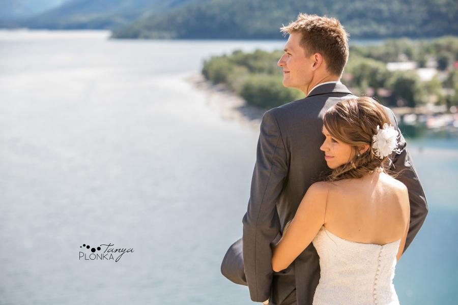 Garrett & Heather, Waterton Prince of Wales outdoor wedding photos