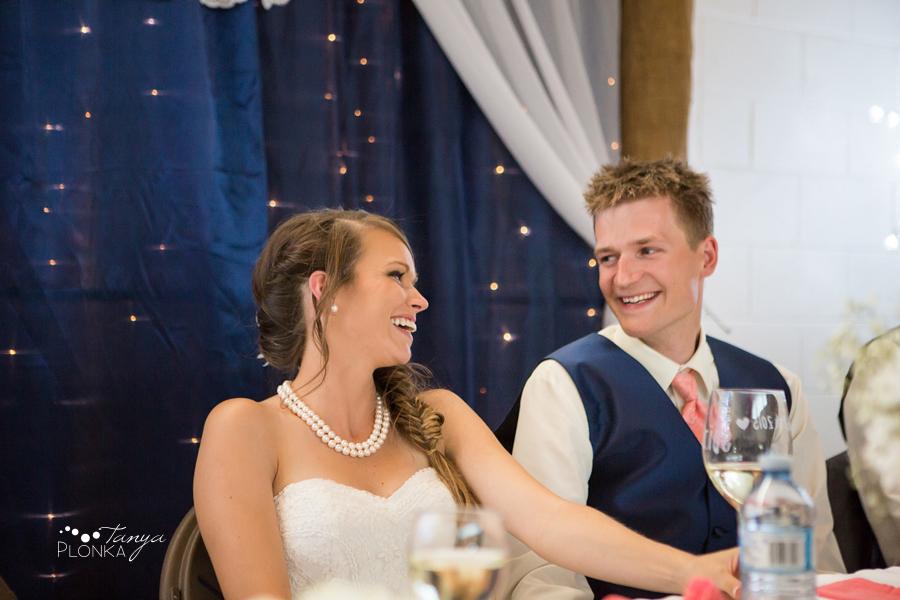 Garrett & Heather, Waterton Community Center outdoor wedding photography