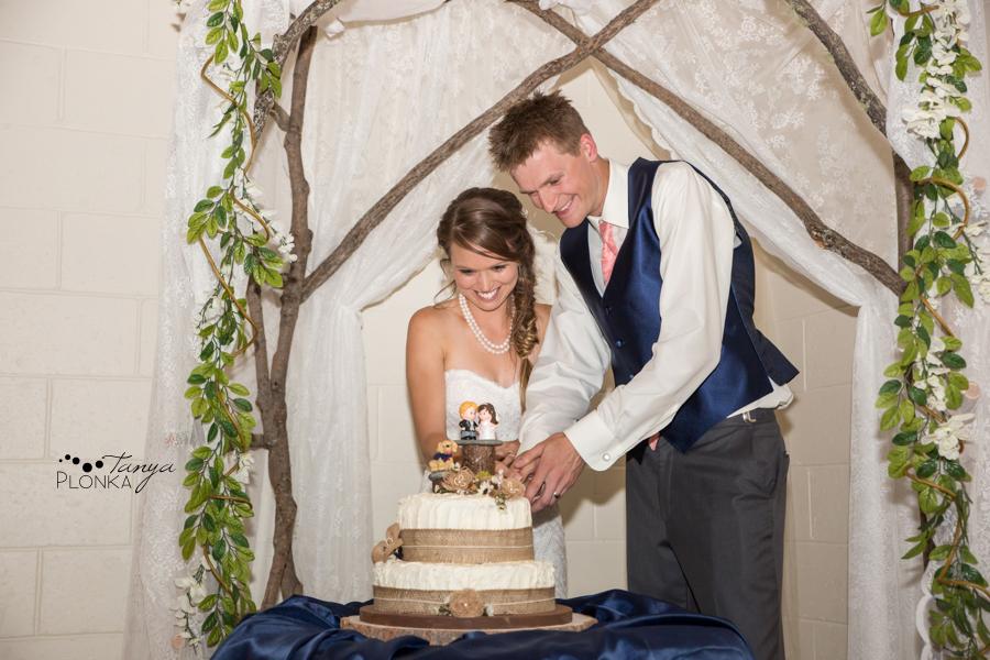 Garrett & Heather, Waterton Community Center wedding photography