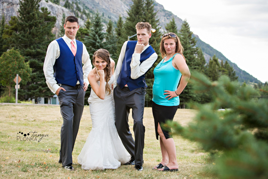 Garrett & Heather, Waterton Community Center wedding photos