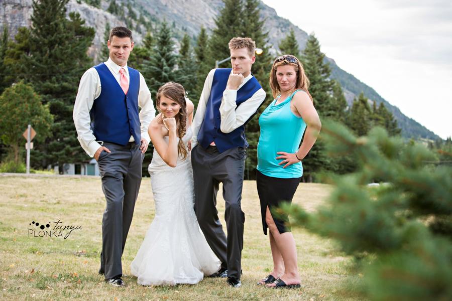 Garrett & Heather, Waterton Community Center wedding photos
