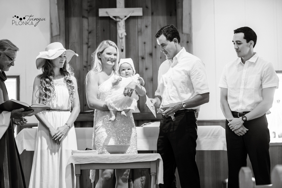Heidi Waterton Catholic Baptism Photos
