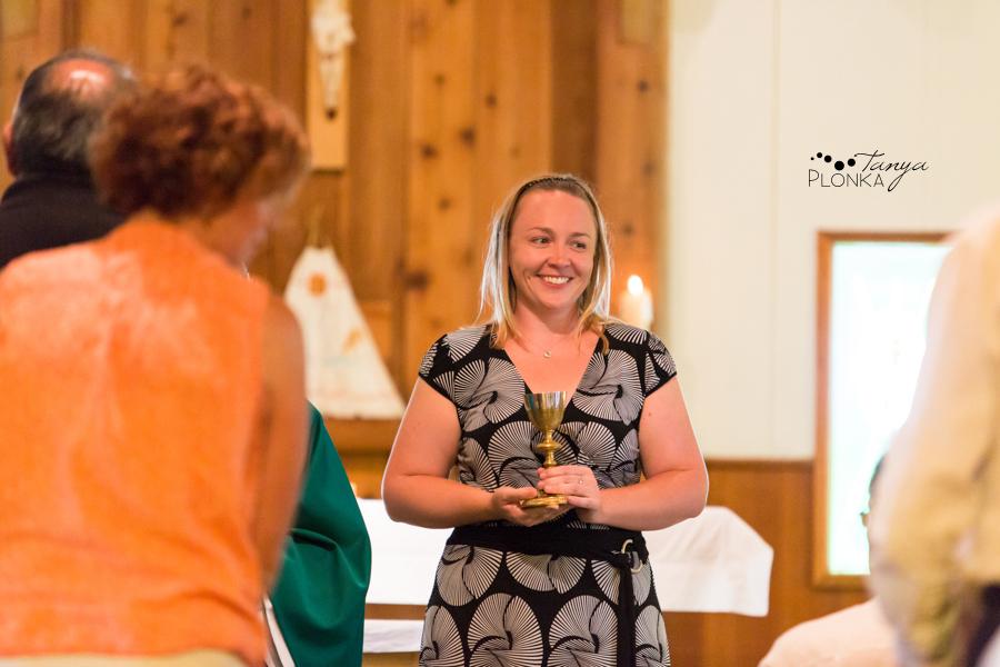 Heidi Waterton Catholic Baptism Photos
