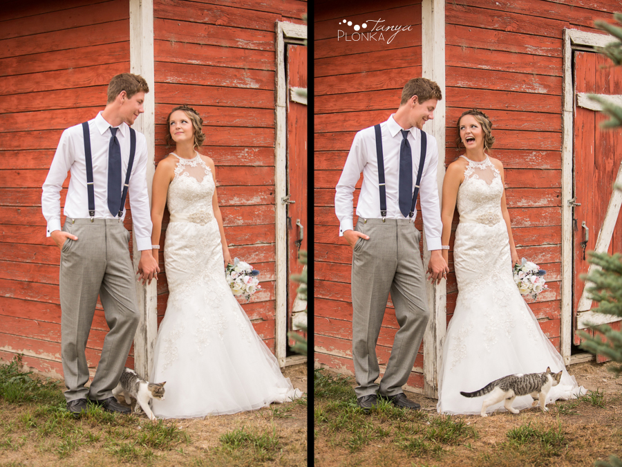 Derek & Tara-Lee, Coaldale farm wedding photos