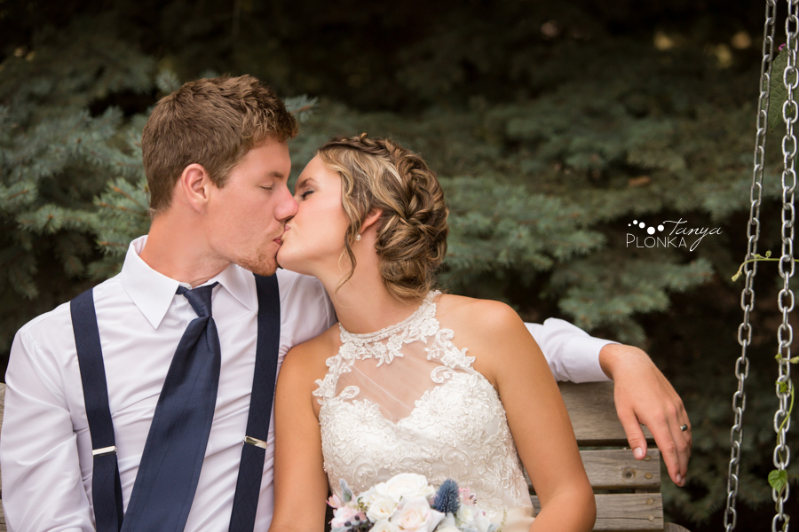 Derek & Tara-Lee, Coaldale country wedding photos