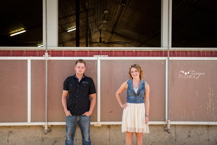 Lethbridge country engagement photos